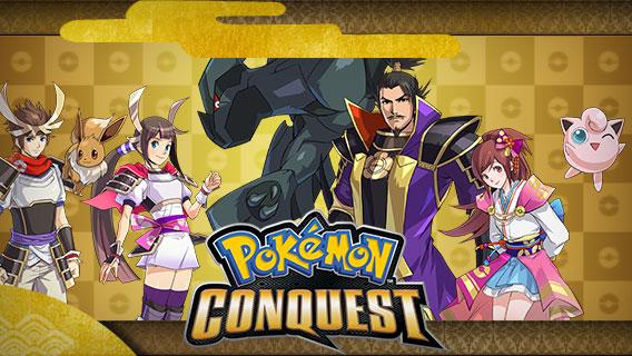 Pokémon Conquest Art
