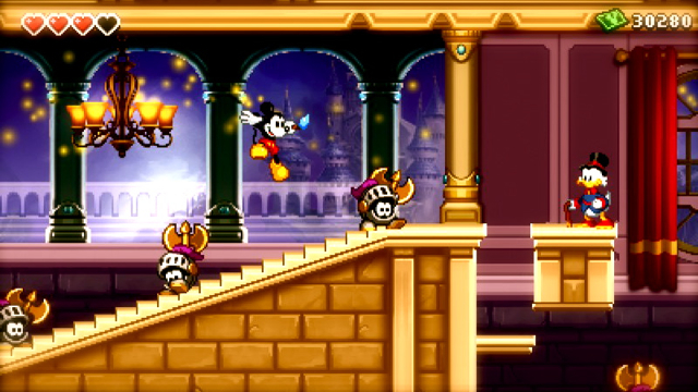 Epic Mickey: Power of Illusion 3DS screenshot masthead