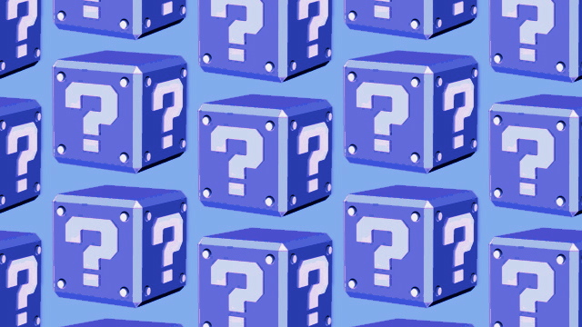 Question Block Blue Poll Masthead