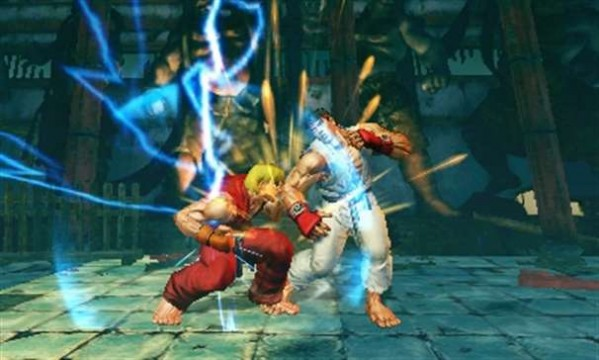 Super Street Fighter IV 3DS screenshot