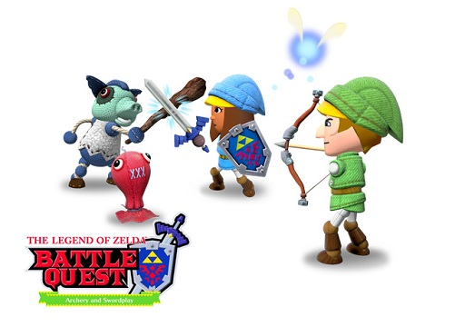 Art Nintendo Land Zelda