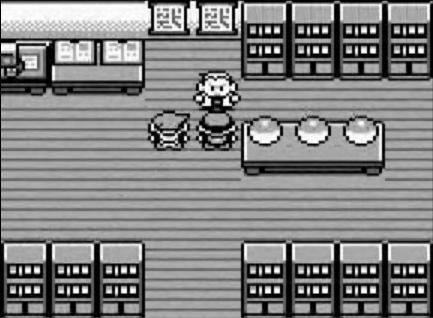 Pokémon Red/Blue Screen Oak