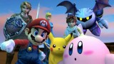Super Smash Bros Brawl group shot
