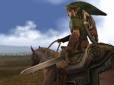 Twilight Princess Link on Epona