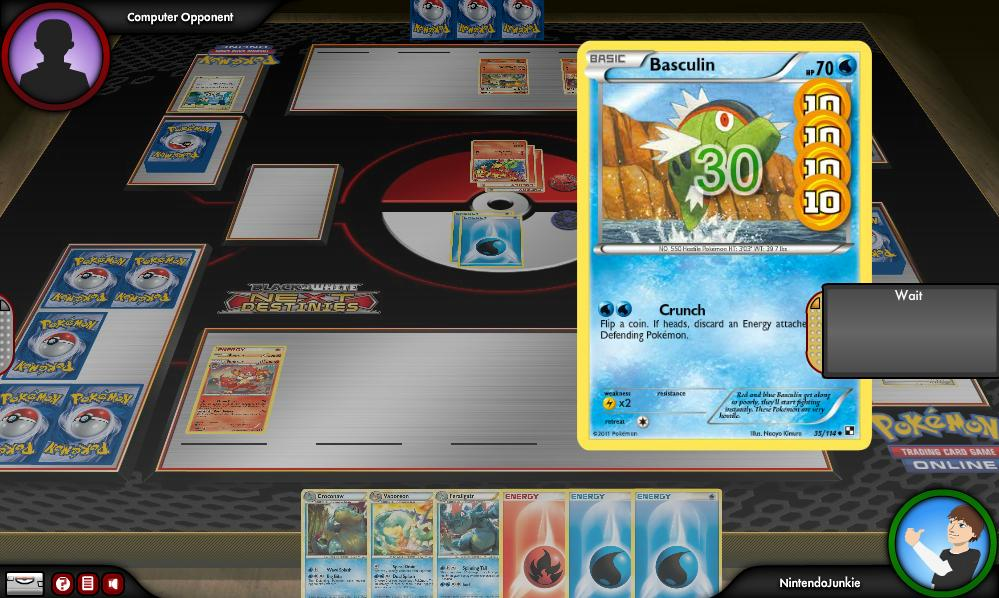 Pokemon trading card game online tokens use