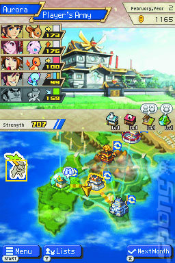 Pokemon Conquest screenshot 1