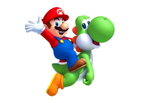 NSMBU Mario & Yoshi