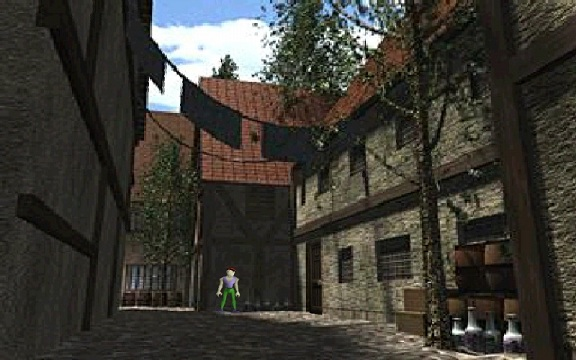 Zelda: OoT Back Alley Screen