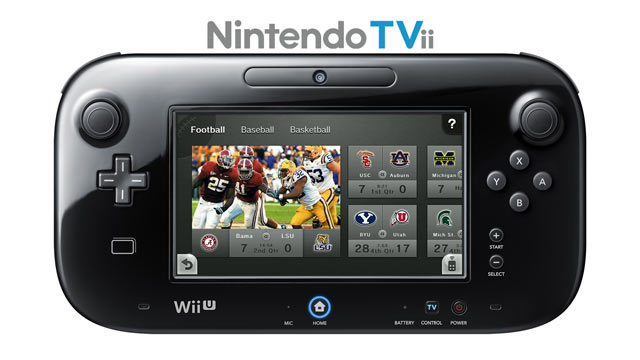 Wii U Nintendo TVii