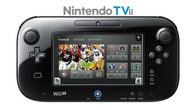 Wii U Nintendo TVii