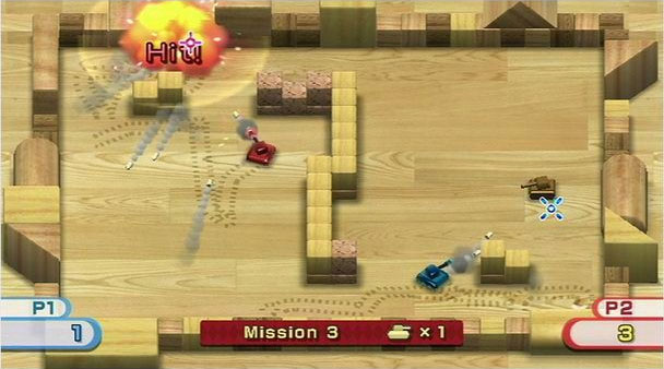 Tanks!, Wii Play screenshot