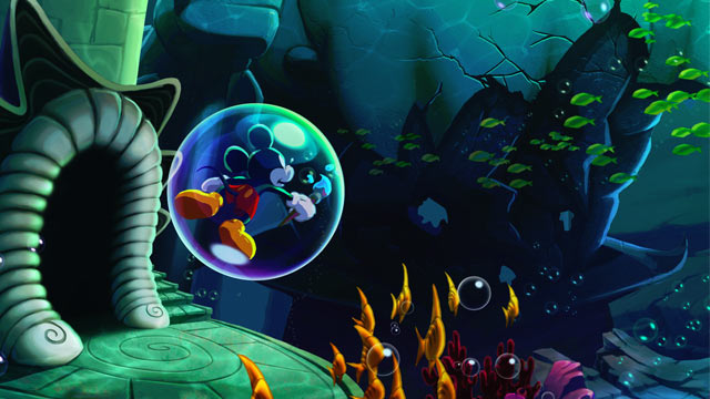 Epic Mickey: Power of Illusion Concept Artwork