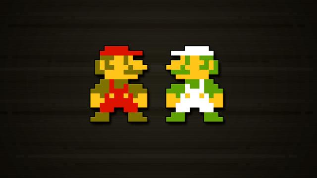 8-bit HD Mario masthead