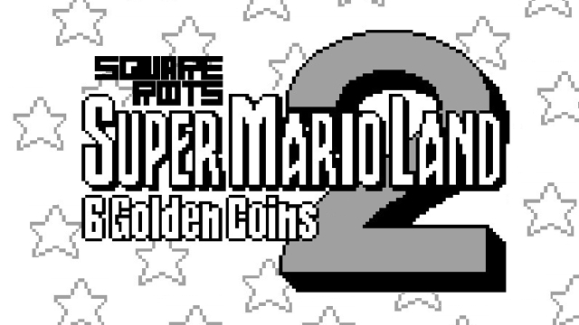 Super Mario Land 2 Square Roots Masthead 2