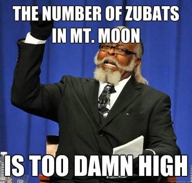 Zubat Mt. Moon meme