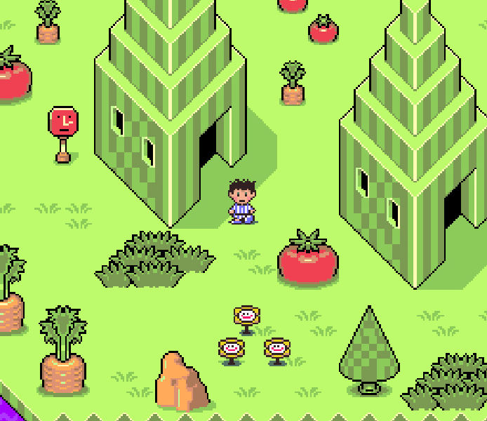 Earthbound Magicant Screenshot