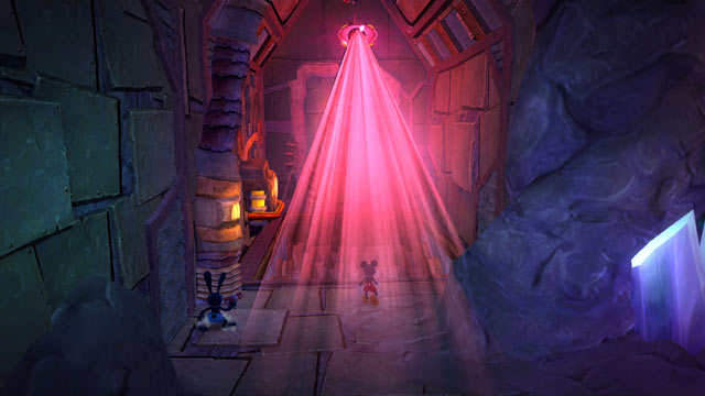Epic Mickey: Power of Two Screenshot - Laser Eye