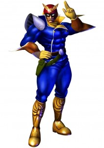 Captain Falcon F-Zero