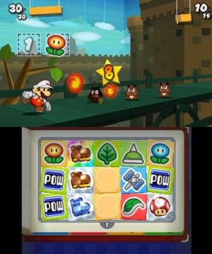 Paper Mario Sticker Star Combat Screenshot