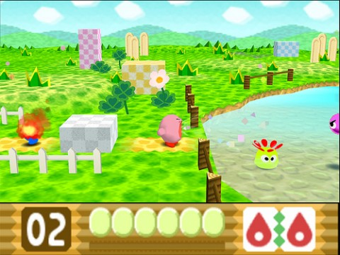 Image result for kirby the crystal shards n64