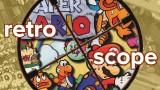 Retro Scope Paper Mario Masthead