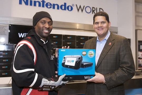 First man to buy a Wii U