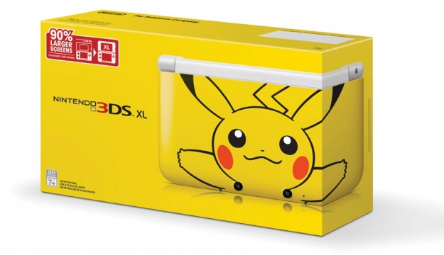 News desk special pikachu 3ds xl coming to north america for 3ds xl pikachu achat