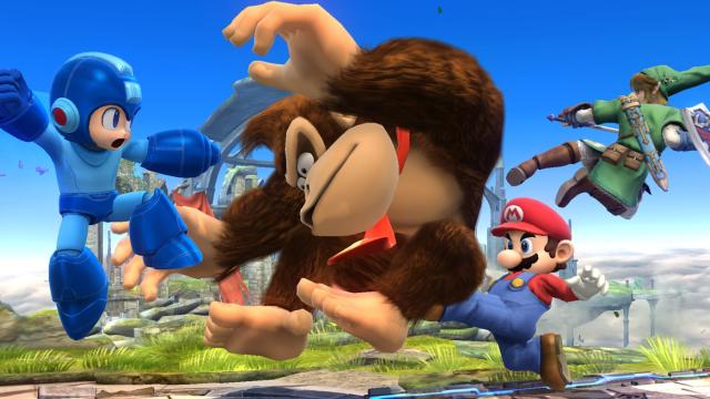 Smash Bros Wii U Masthead Round Table