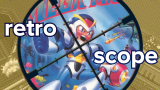 Retro Scope Mega Man X Masthead