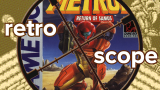 Retro Scope Metroid II Masthead