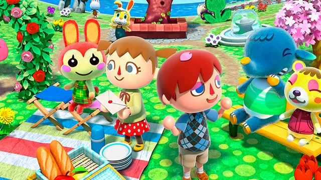 Animal Crossing New Leaf - Spring