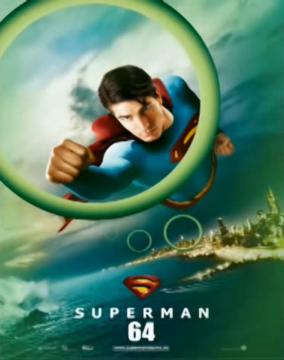 Fly Through Rings Superman