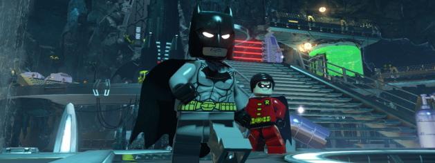 Extrait d'une cinématique de LEGO Batman 3