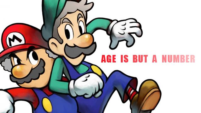 Old Mario and Luigi