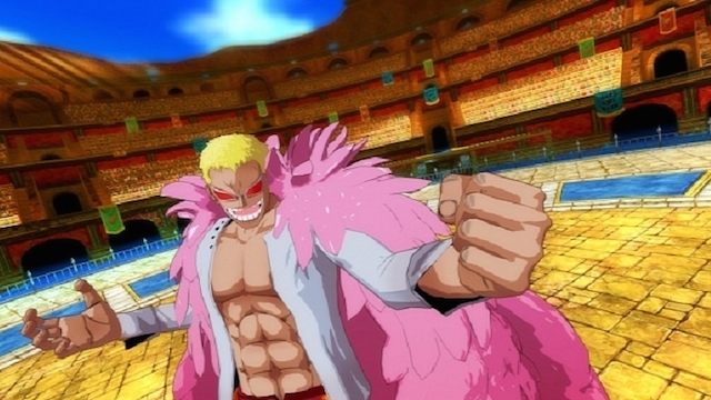 Screenshot from Onepiece Red for Wii U