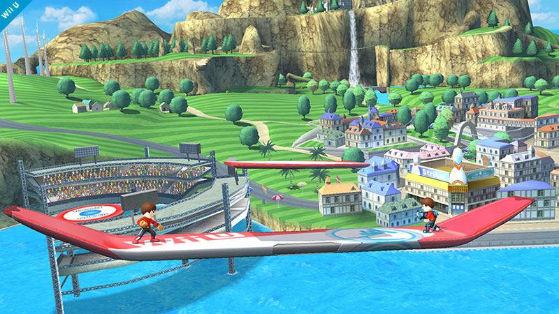 Super Smash Bros for Wii U - Wii Sports stage