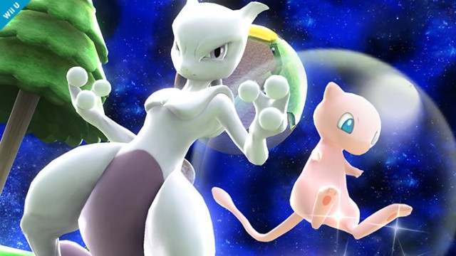 Wii u and 3ds is eligible to receive a free dlc code to add mewtwo to