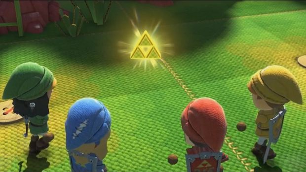 Nintendo Land Triforce