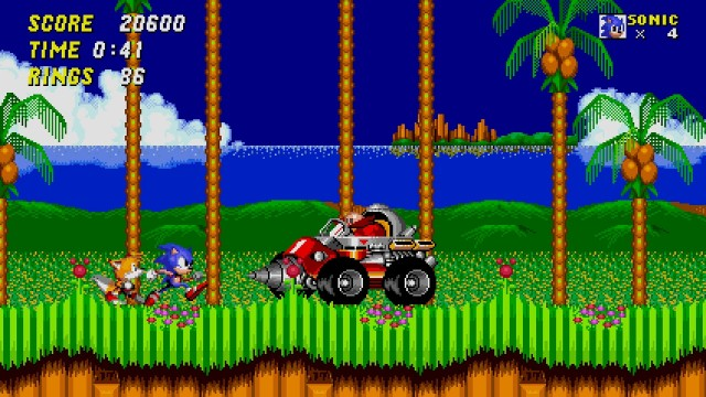 Sonic the Hedgehog 2 gameplay