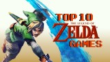Top Ten Zelda Games Masthead