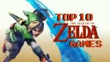 Top Ten Zelda Games Masthead