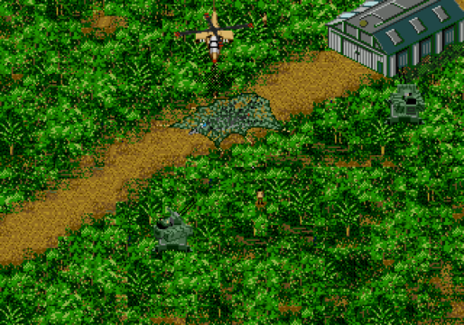 Jungle Strike SNES