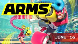 Smash Bros. is getting company, as Nintendo is launching yet another take on the fighting genre with ARMS. Use either traditional or motion controls to tackle your foes, either in-person or online!