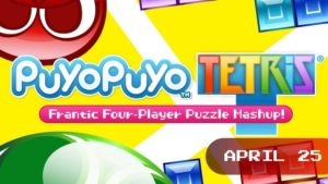 Tetris meets Puyo Puyo!  Nintendo fans will likely be familiar with Tetris, but Puyo Puyo isn't all that well-known in the west. It's an excellent falling block game that, hopefully, pairs well with the Russian classic.