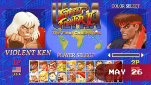 The final (for now!) version of Street Fighter II is coming to Switch! Play as new characters Evil Ryu and Violent Ken, throw Hadoukens in first-person, and take the fight online!