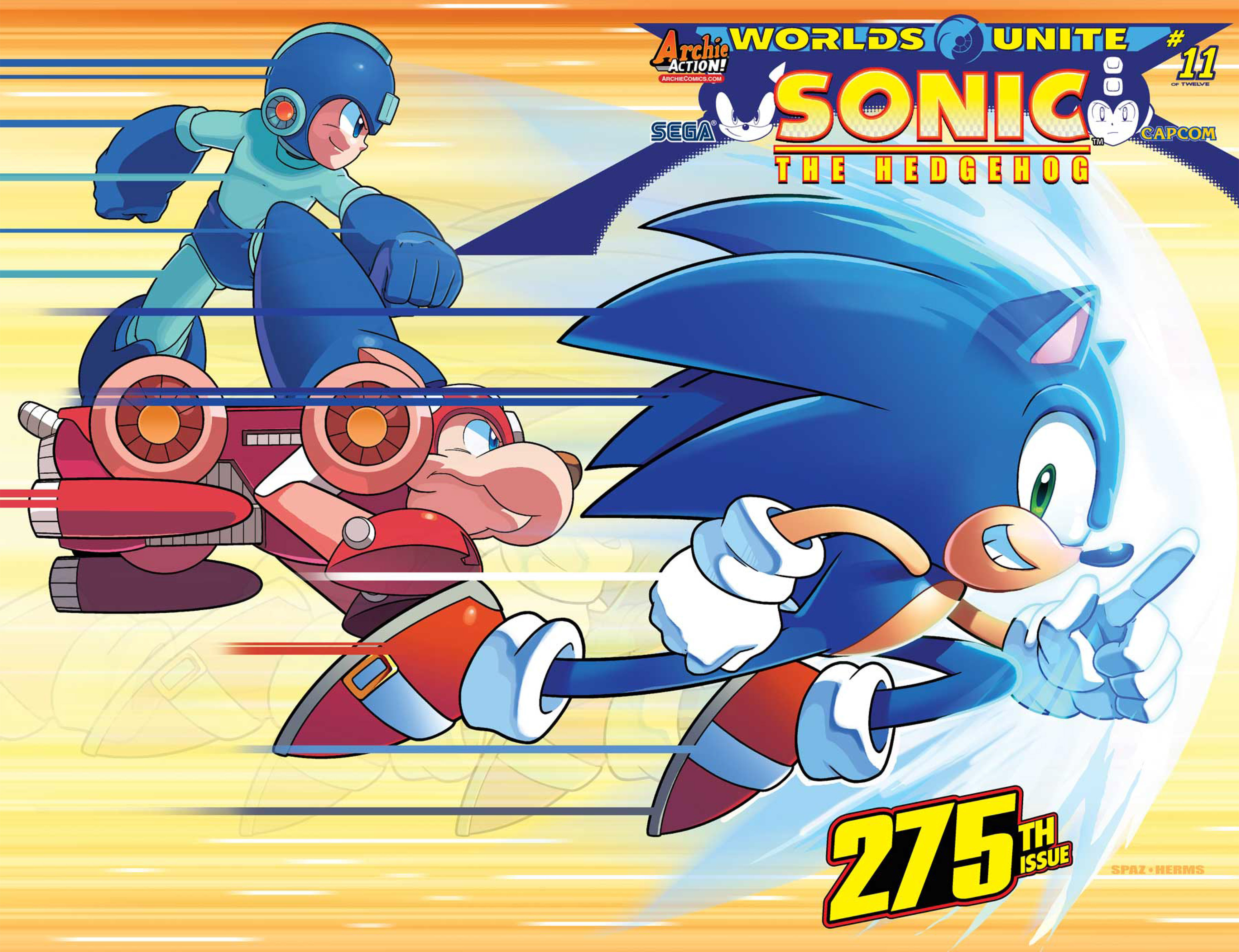 sonic the hedgehog issue 293