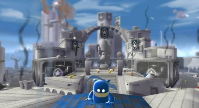 Save Chroma City In de Blob On Nintendo Switch