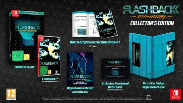 Flashback is headed to the Switch this year