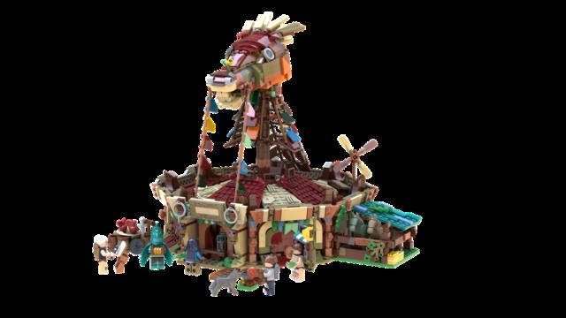 Fan Submits Breath of the Wild Lego Set Design « Nintendojo