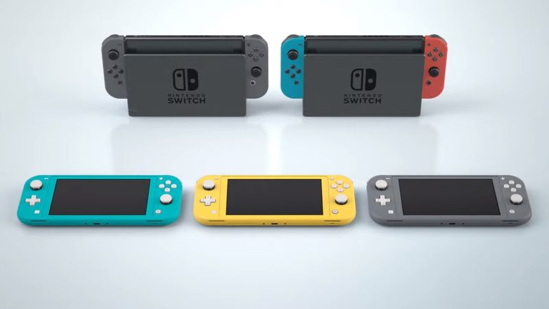 Does the Nintendo Switch Lite have a touch screen?
